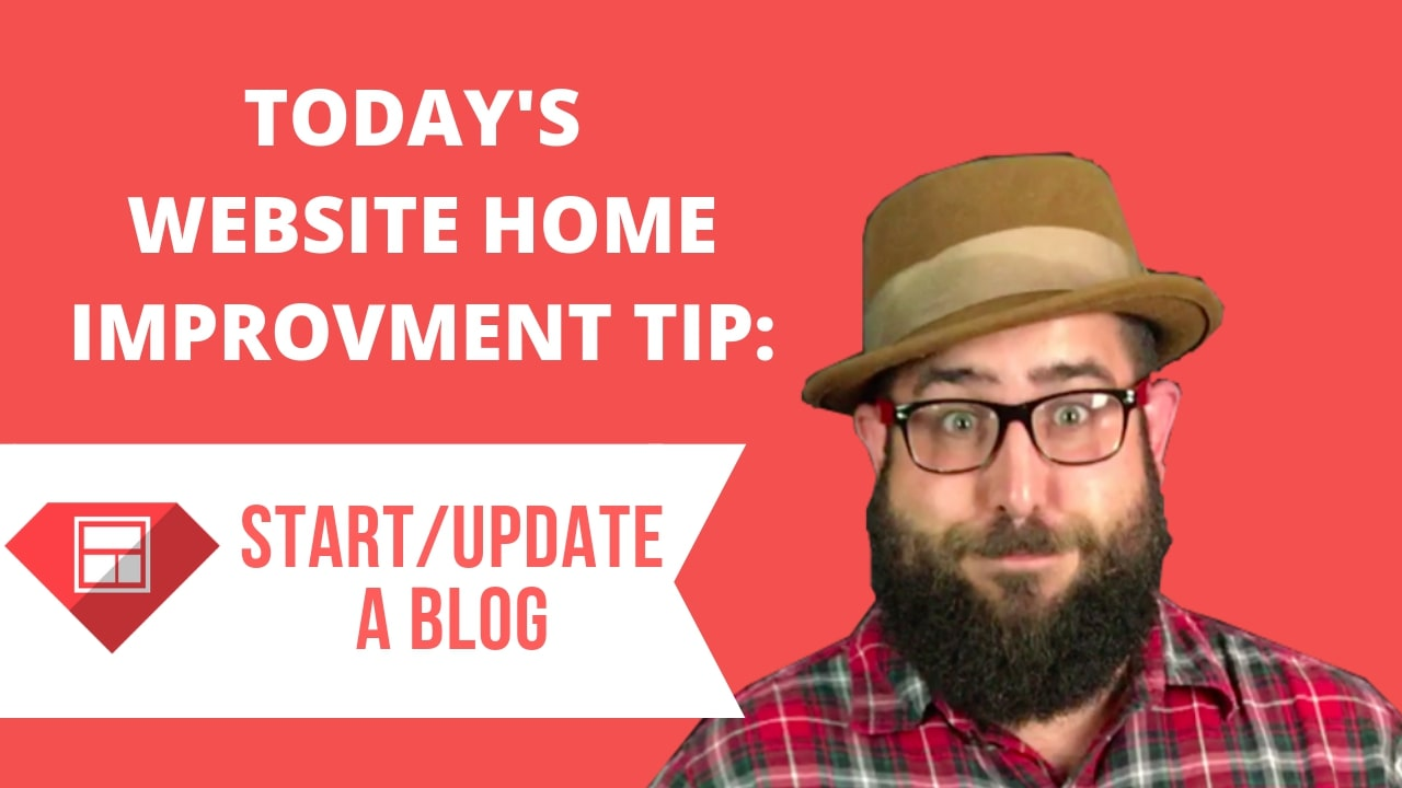 Thumbnail of blog post by Duke Kimball on why a business should start/update a blog