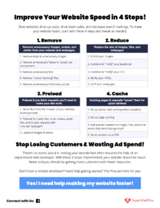 Thumbnail of Speed Checklist by SuperWebPros
